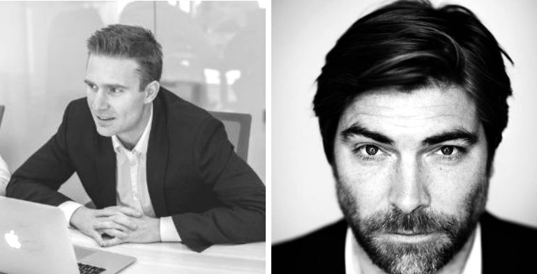 Managing DirectorJakob Hansen and Chairman Morten Lund